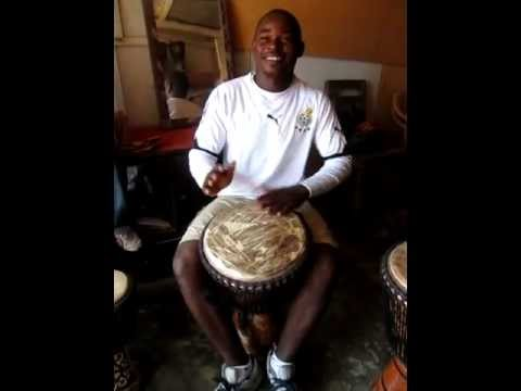 Africa Drum - David, Ghana Cultural Arts Center, Accra