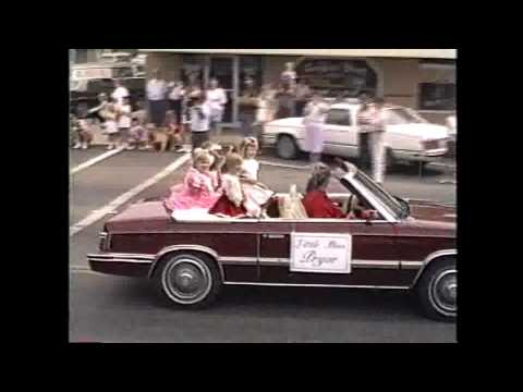 Pryor Oklahoma Centennial Parade 5-2-1987