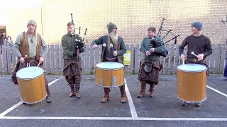 """Special """"Scotland The Brave"""" mix by Scottish tribal band Clanadonia for St Andrews Day 2019 in Perth"""