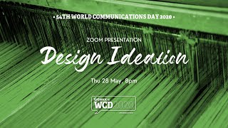 WCD2020 Sessions - Design Ideation for Faith Stories
