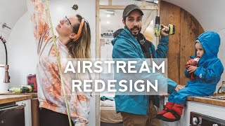 Building Our Ultimate Tiny House on Wheels - Airstream Renovation | Kids Treehouse Bunk Bed