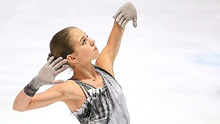 Alexandra Trusova European Championships 2020 Short Program