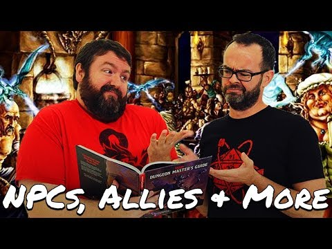 NPCs, Allies, Animal Companions & Mounts in 5e Dungeons & Dragons - Web DM