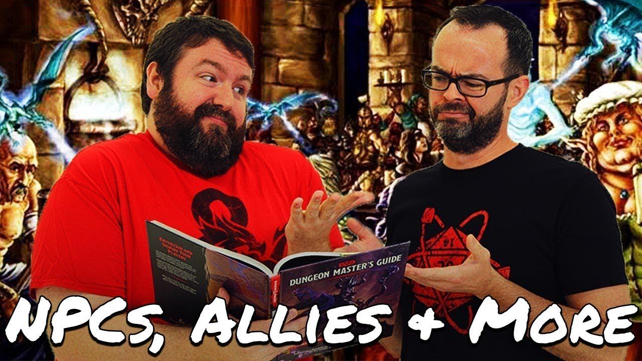 NPCs, Allies, Animal Companions & Mounts in 5e Dungeons & Dragons - Web DM