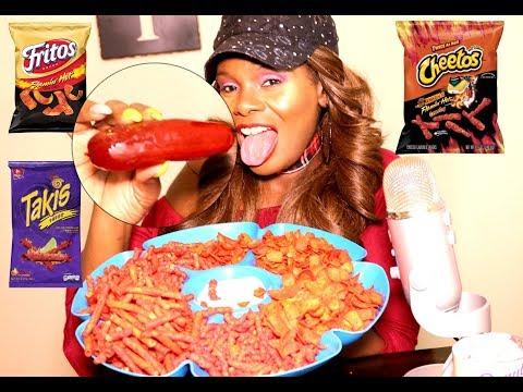PICKLE MUKBANG ASMR Ramble | Cheetos Takis Fritos FLAMIN HOT