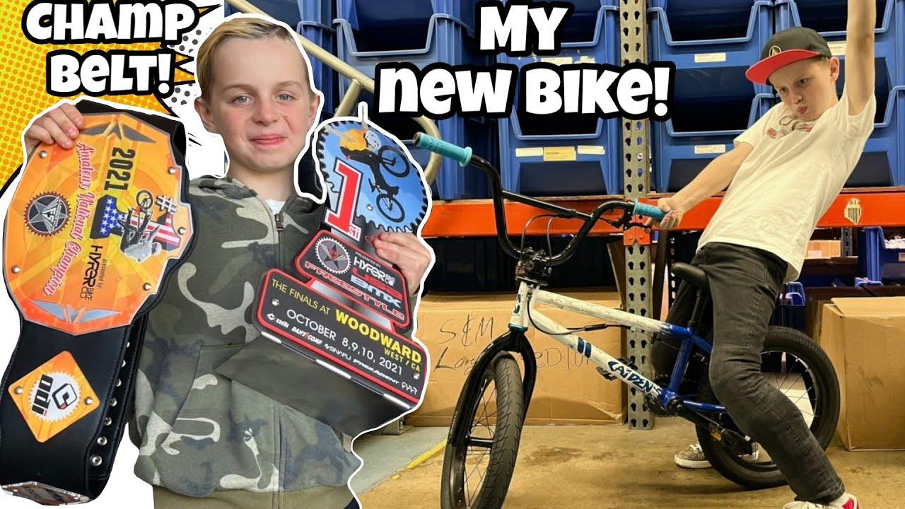 Download I GOT A NEW SIGNATURE BMX BIKE!! *CHAMPIONSHIP BELT!!*