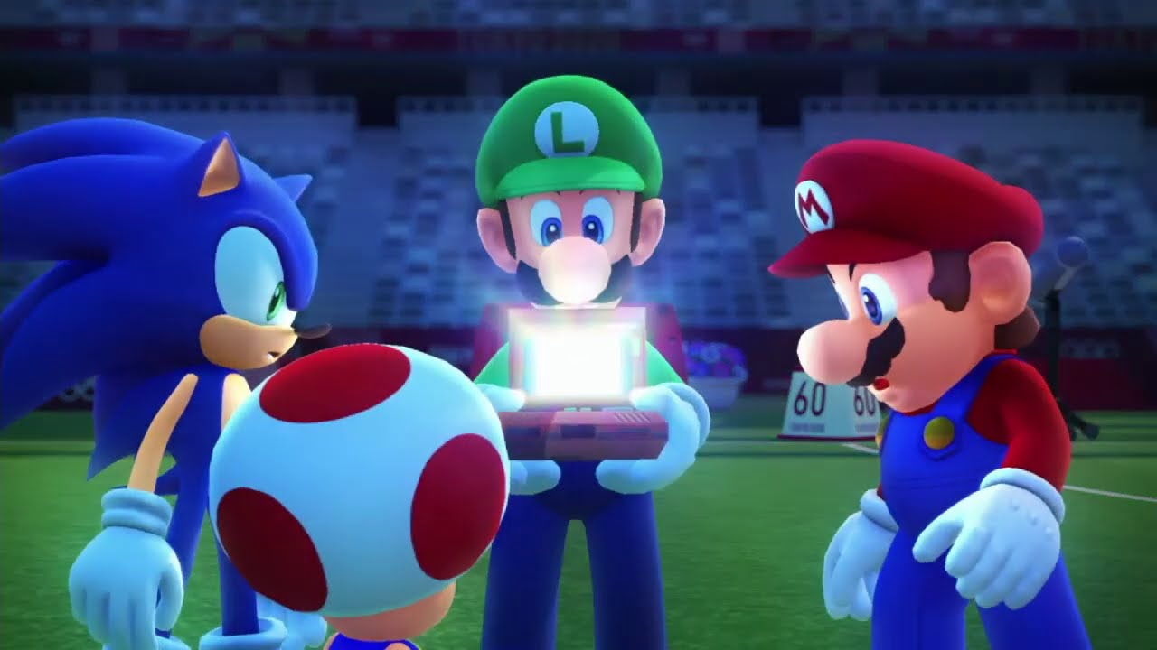 The First 20 Minutes of Mario & Sonic at the Olympic Games Tokyo 2020