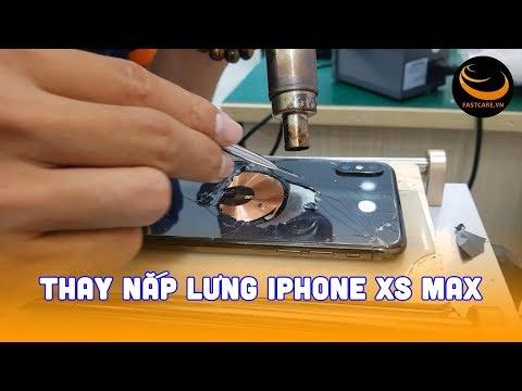 Thay nắp lưng iPhone Xs Max nhanh chóng lấy ngay