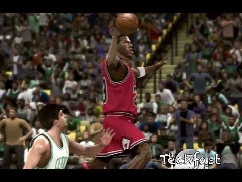 Nba 2k11 Michael Jordan Dunk From Free Throw Line Zomg