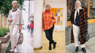 Стиль и актуальный вязаный гардероб современной женщины элегантного возраста