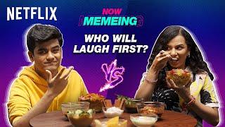 @Slayy Point's Ultimate Laughter Challenge | Gautami VS Abhyudaya | Now Memeing | Netflix India
