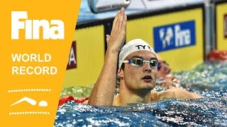 Florent Manaudou | World Record 50m Backstroke | 2014 FINA World Swimming Championships