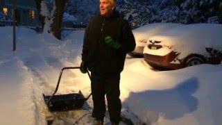 Garant Sleigh or Sled Snow Shovel