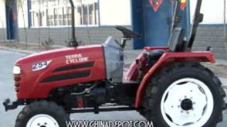 The Terra Cyclone Tractor From China Depot.com by Walt Barrett