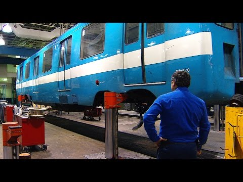 Changing tracks: Montreal puts old Metro cars up for sale