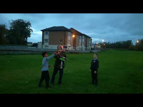 Drone fireworks tullow
