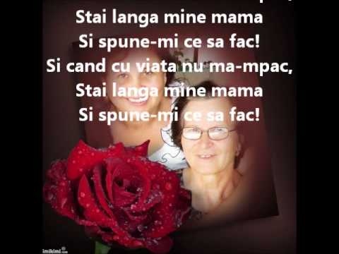 Stai langa mine mama -Madalina Manole