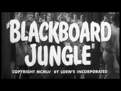 Blackboard Jungle Movie Trailer 1955