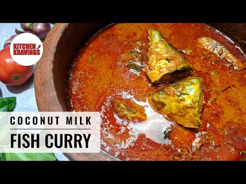 Coconut Milk Fish Curry   How to make Fish Curry with Coconut Milk   Fish Recipes