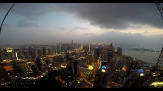 Cayan Tower Timelapse