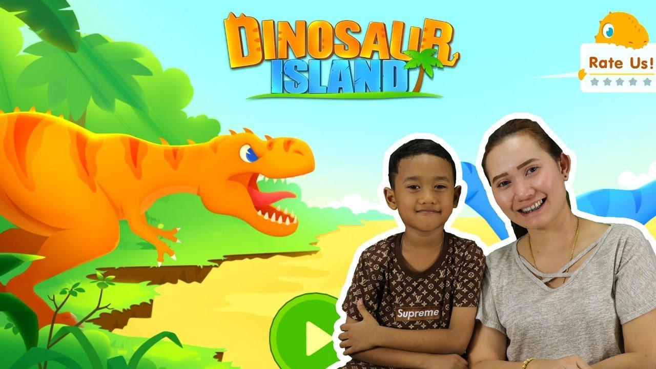 น้องโปรแกรม รีวิวเกมส์ Dinosaur Island: T-Rex | เที่ยวเกาะไดโนเสาร์ทีเร็กซ์
