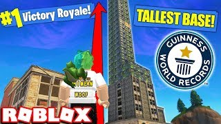 BUILDING THE TALLEST TOWER EVER IN ROBLOX STRUCID (Funny - Best Moments)