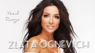 Zlata Ognevich Full Vocal Range: C#3 - A5 - D7