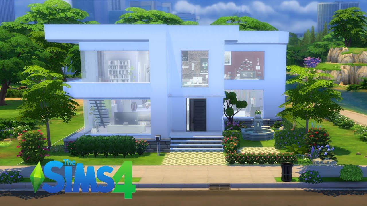 the sims 4 casa modern luna youtube