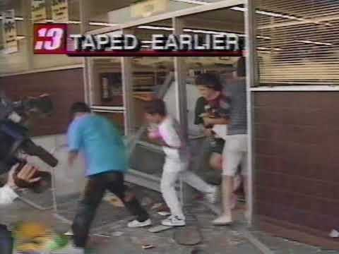 1992 LA Riots: Illegal Aliens Treat Store like Pinata