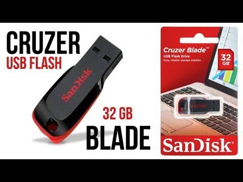 Обзор и тест USB флешки SanDisk Cruzer Blade 32 GB
