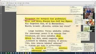 29 | Sinjoro Tadeo 4: 353-458 | Pan Tadeusz – 에스페란토 판 타데우시 4권 공부 (zoom)
