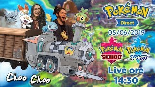 Pokémon Direct Spada e Scudo del 05/06/2019 in LIVE!