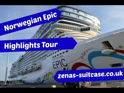 Norwegian Epic Highlights Video Tour