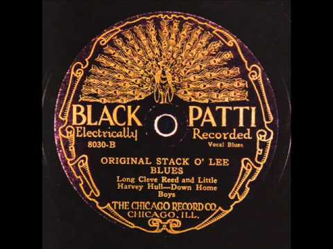 Long Cleeve Reed & Little Harvey Hull-Down Home Boys  Original Stack O'Lee Blues BLACK PATTI 8030