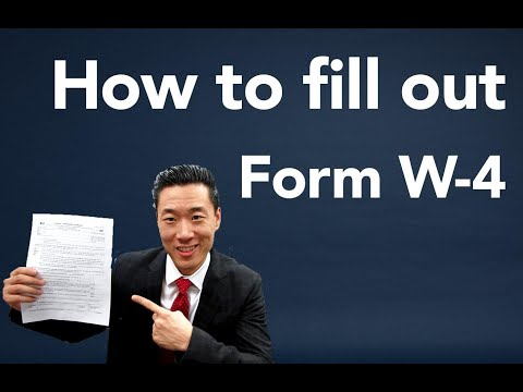 How To Fill Out A W4 Form 2020