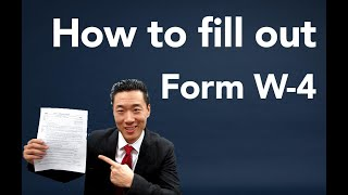 How to fill oขt a W4 Form
