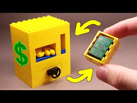How To Make A Lego Candy Machine With Safe