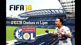 Chelsea vs Lyon All Goals & Highlights | Fifa 18