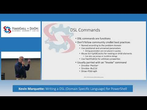 Writing a DSL (Domain Specific Language) for PowerShell by Kevin Marquette