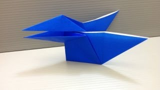 Daily Origami: 076 - Talking Crow
