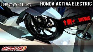 Honda Activa Electric Upcoming | Hindi | MotorOctane