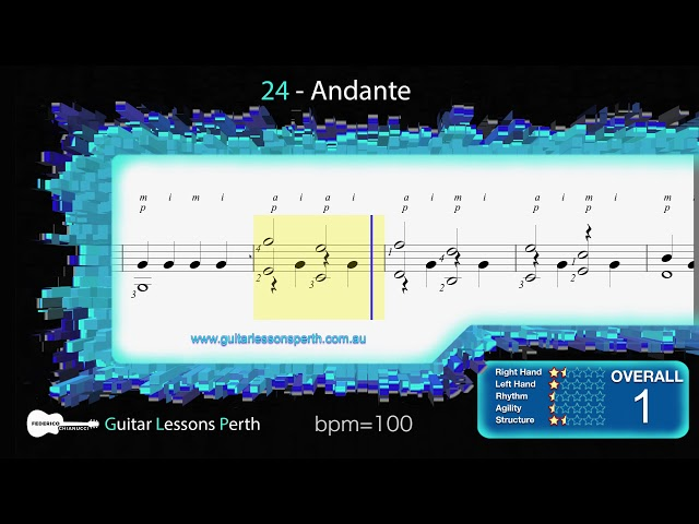 24 - Andante (F. Sors)