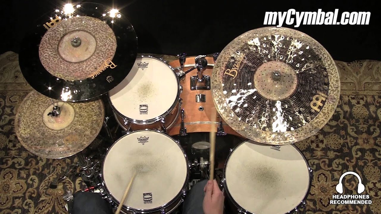 meinl 22 byzance jazz ralph peterson signature symmetry ride cymbal b22syr 1022715w youtube. Black Bedroom Furniture Sets. Home Design Ideas