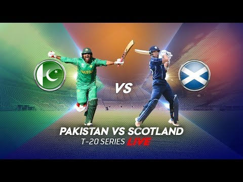 Live Cricket!! Pakistan vs Scotland - 1st T20 thumbnail