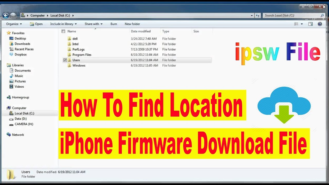 Iphone Firmware Download File Location