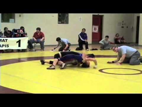 2010 Ontario Junior Championships: 55 kg Brianne Barry vs. Sara Pattenaude