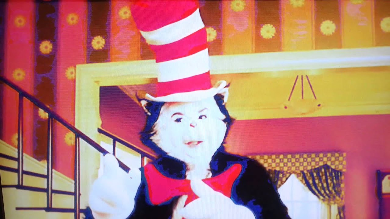 cat in the hat thing 1 and thing 2 youtube