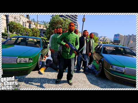 Gangster Life - GTA 5 New Missions!! Attacking Gang Hideouts (GTA 5 NEW CUSTOM GANGSTER MISSIONS)