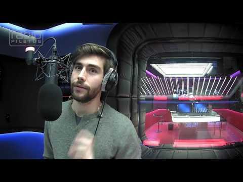 Alvaro Soler zum kurzen Interview im Radio Pilatus Studio