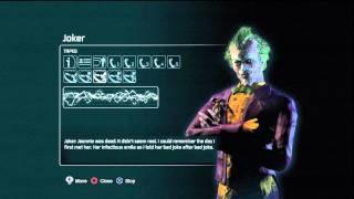 Batman arkham city Joker Tapes